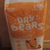 Подгузники Dry Bears 2(48 шт)