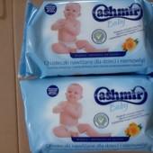 Влажные детские салфетки Cashmir baby  (для детей и младенцев) 72 шт