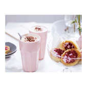 Прекрасный стакан розовый Покаль от Икеа Отличная цена ikea в наличии!