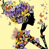 Набор для рисования Турбо Цветочная Фея VP632