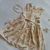 Красивое нарядное легенькое сарафан платюшко Милашка разные цвета