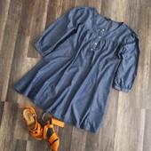 Легкая джинсовая туника р.20  Papaya В наличии