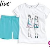 Комплект для девочки р.110 116 122 128 футболка шорты Германия