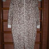Пижама флисовая, женская, размер М, рост до 160 см