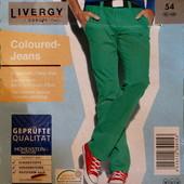 Мужские брюки-чиносы зеленого цвета евро 48 Livergy Германия