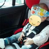 Защитный ремень (накладка, подушка, фиксатор) для головки ребенка.