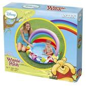 Детский надувной бассейн Винни Пух c навесом Intex