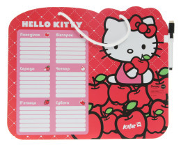 Доска Расписание уроков + маркет Hello Kitty Transformers  6 от  Kite фото №1