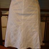 Юбка хлопковая\хлопок\ вышивка-прошва-ришелье р.10-12  Jane Norman