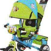 Детский трехколесный велосипед Turbo Trike LT 0066-01 на пене