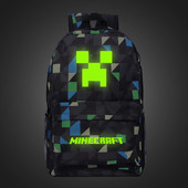 Светящийся рюкзак Minecraft