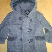 Пальто на 9-12 мес