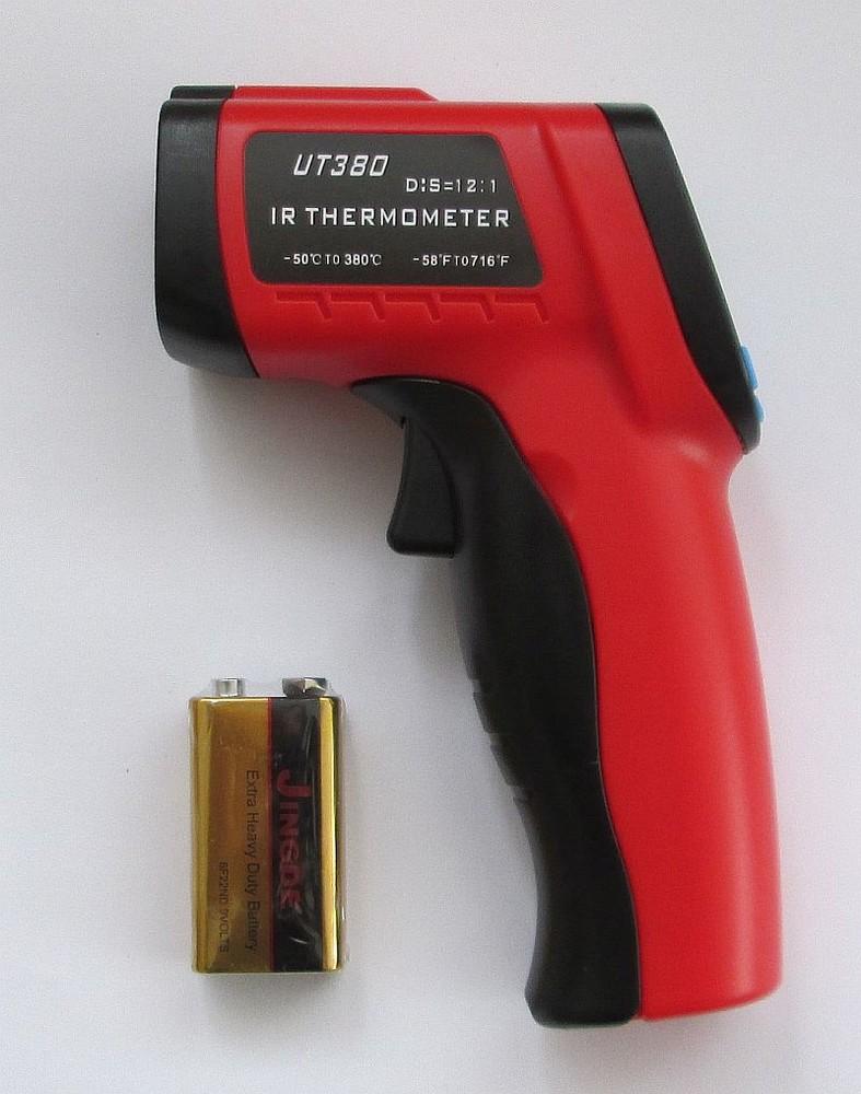 Инфракрасный пирометр ut380 фото №1