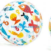 Мяч  надувной ,  51 см, 2 вида