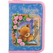 Пенал Kite Popcorn Bear PO17-622
