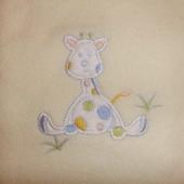 Плед деткий флисовый одеяло детское флис в отличном состоянии