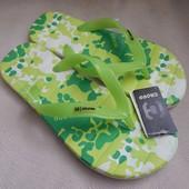 Шлёпки шлёпанцы вьетнамки фирмы Cropp размер 43