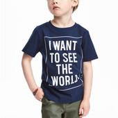 Очень красивая футболка H&M