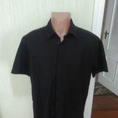 Чорна стейчова рубашка