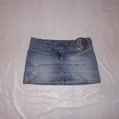 S-M, поб 46-48, модная джинсовая юбка Moto by Top Shop
