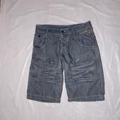 M-L, поб 48-50 модные джинсовые шорты George мужские