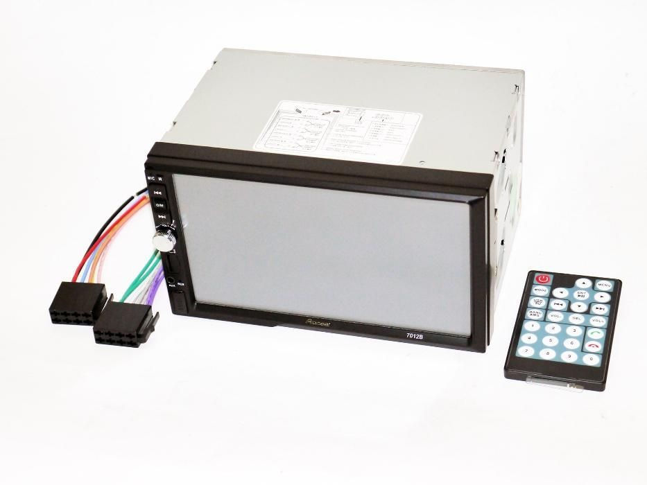 2Din Pioneer 7012 7 дюймов экран магнитола usb+bluetoth+камера фото №1