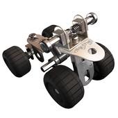 Meccano стартовый набор мотовездеход  конструктор starter set ATV