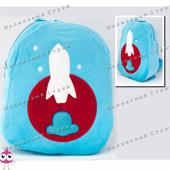 "Детский рюкзак ""Космонавт"" MP 1243, на молнии, 25х20х7см"