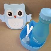 Ланч бокс + бутылочка контейнер для продуктов судочек