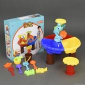 Столик игровой для песка и воды + стульчик 9827