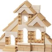 Деревянный конструктор домик Cubika 11544 LB-2 Кубика дерево