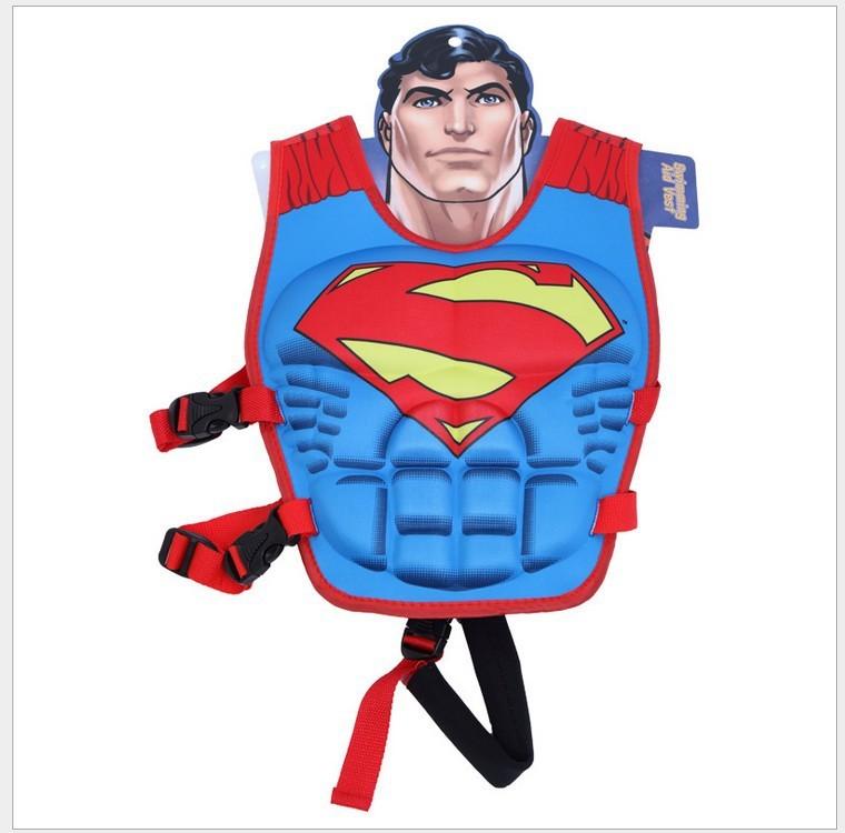 Детский  страховочный жилет для плавания, супермен, 2-6л фото №1