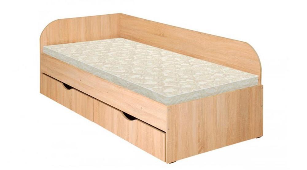 Детская/подростковая кровать с ящиком для белья. Одинарная кровать фото №1