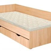 Детская/подростковая кровать с ящиком для белья. Одинарная кровать