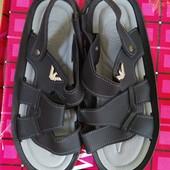 Чёрные мужские сандалии. Распродажа