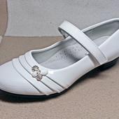 Шикарные туфли девочкам, р. 33,34