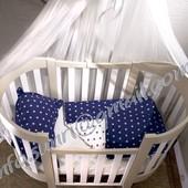 Постельное белье в кроватку 3 в 1
