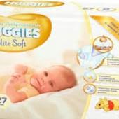Подгузники Huggeies Elite Soft 2 (4-7 кг, 23 шт)