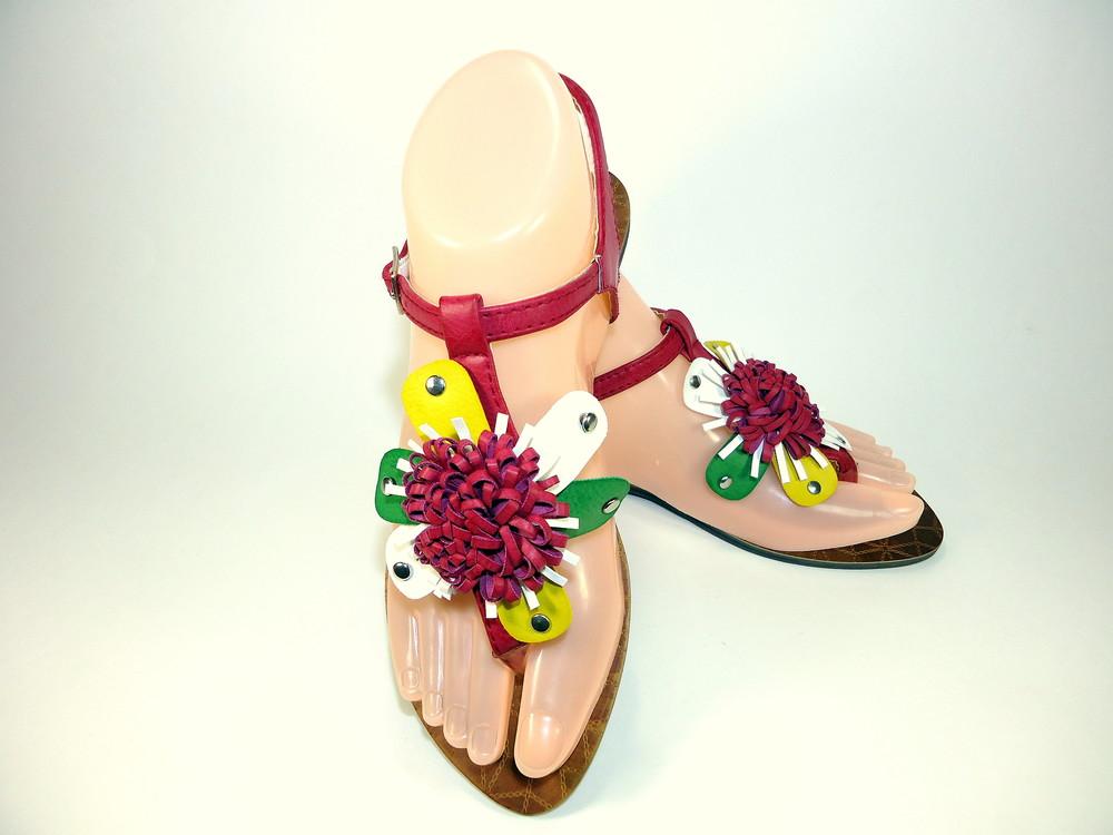Женские стильные сандали - босоножки на низком ходу. размер 36-41. фото №1