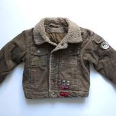 92р Куртка вельветовая демисезонная