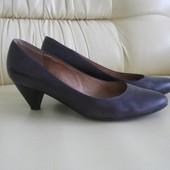 Туфли-лодочки кожаные