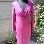 трикотажное платье красивого цвета