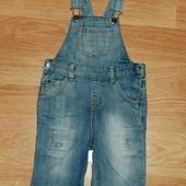 Next (2-3 года) джинсовый комбинезон для ребёнка