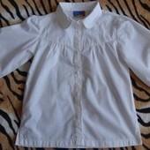 Красивая блузка для девочки на возраст 6 - 7 лет