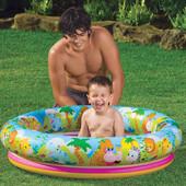 Intex 59411 112х25см. Детский бассейн Джунгли Jungle Fun