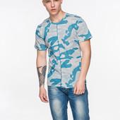 Мужские футболки оригинальной расцветки S-XXL