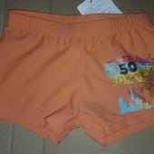 Распродажа - Плавки шорты мальчику на рост 107-113 см. оранжевые от In Extenso боксерки плавки-шорты