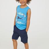 Майка H&M для мальчиков 6-8 лет