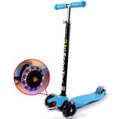 Детский трехколесный самокат со светящимися колесами 466-113