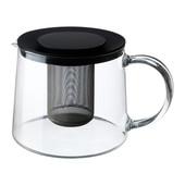 Чайник заварочный, Стекло, 1.5 л ikea икеа 901.500.71